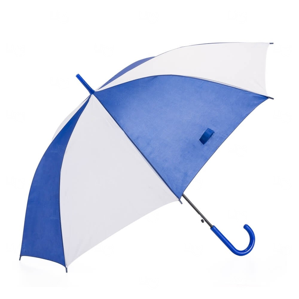 Guarda-Chuva Colorido Personalizado Azul