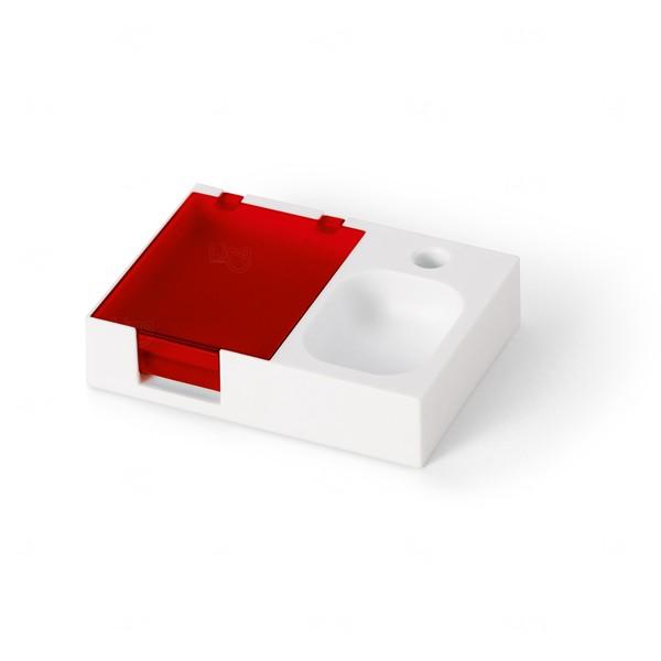 Base Para Mesa de Escritório Personalizada Vermelho