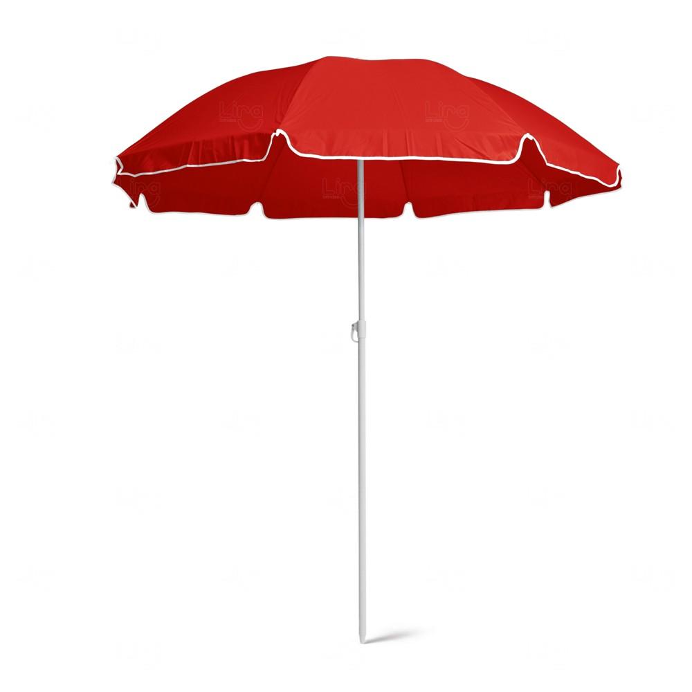 Guarda-Sol Personalizado Vermelho
