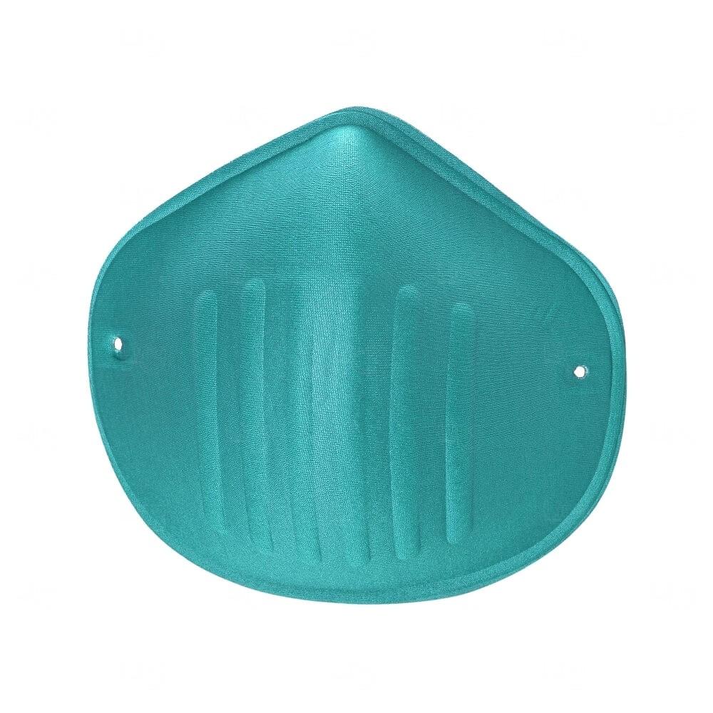 Máscara Reutilizável de Microfibra Personalizada Verde
