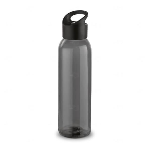 Squeeze Polipropileno Personalizada - 600ml Preto