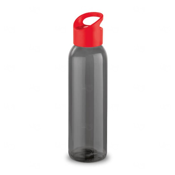 Squeeze Polipropileno Personalizada - 600ml Vermelho