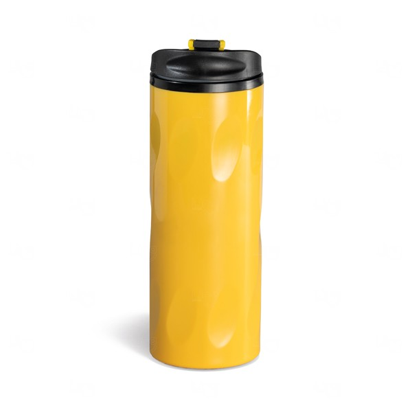 Squeeze Para Viagem Personalizado - 520ml Amarelo