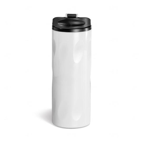 Squeeze Para Viagem Personalizado - 520ml Branco