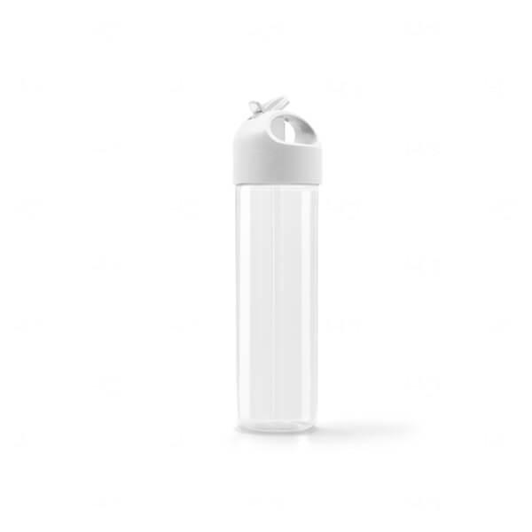 Squeeze PS  Personalizada - 500ml Branco