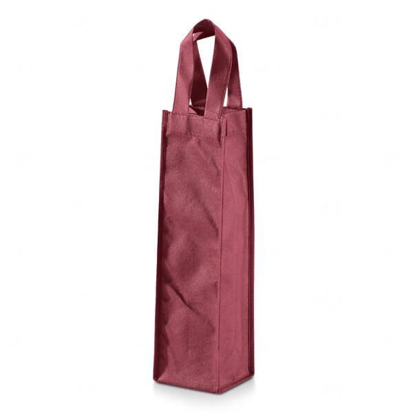 Sacola Para Garrafa Personalizada Vermelho