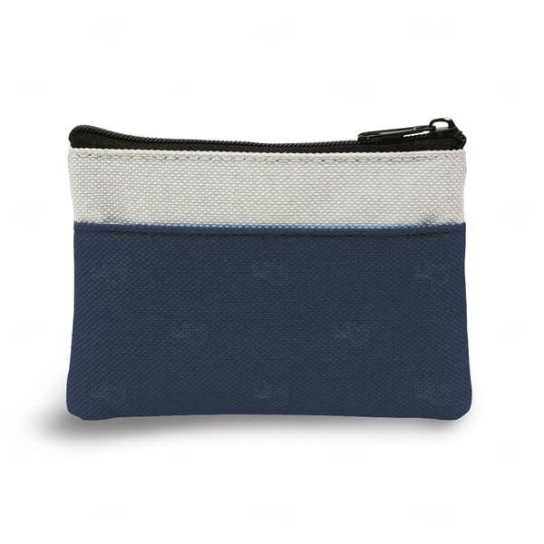 Bolsa Porta Chaveiro Personalizado Azul