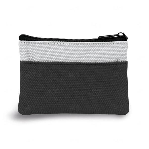 Bolsa Porta Chaveiro Personalizado Preto