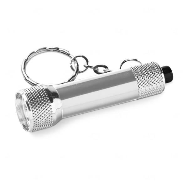 Chaveiro Alumínio Personalizado Prata