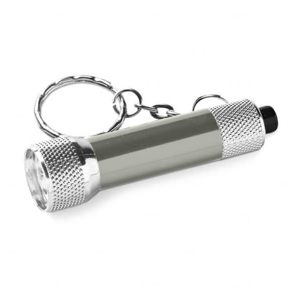 Chaveiro Alumínio Personalizado Cinza