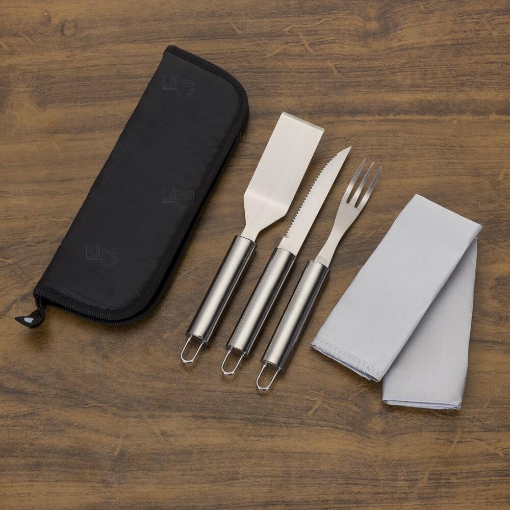 Kit Churrasco Personalizado - 4 peças
