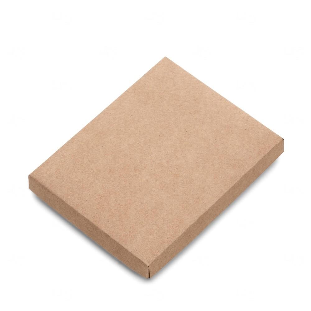 Embalagem para Caderneta Tipo Moleskine Personalizado Kraft