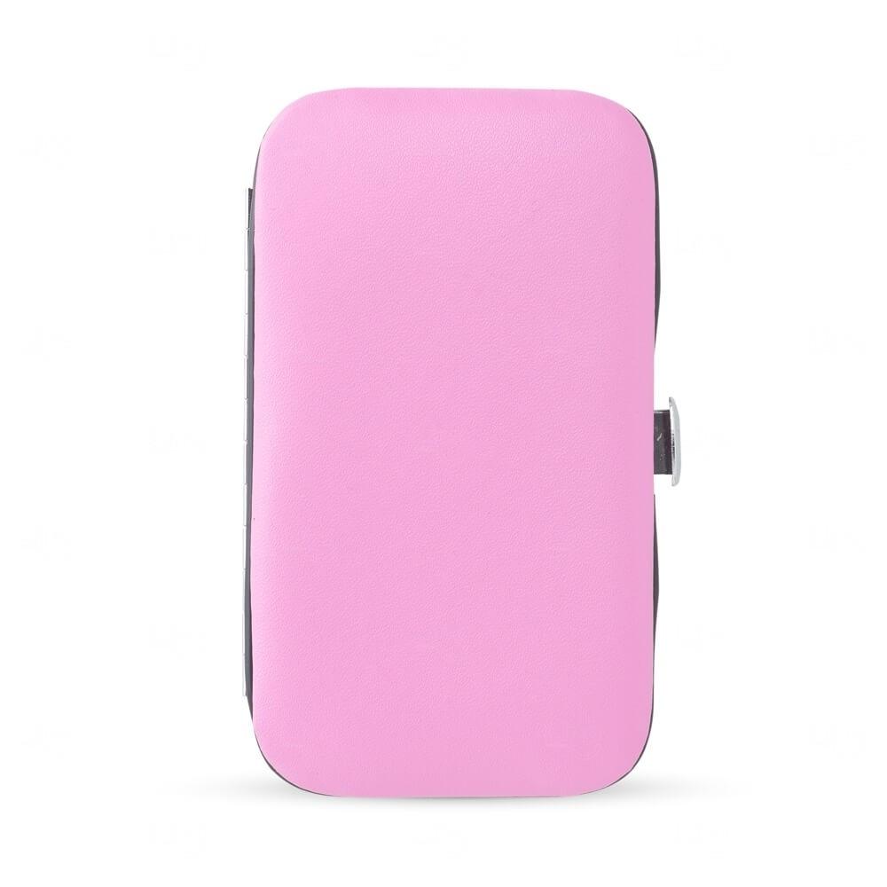 Kit Manicure Personalizado - 6 peças Rosa
