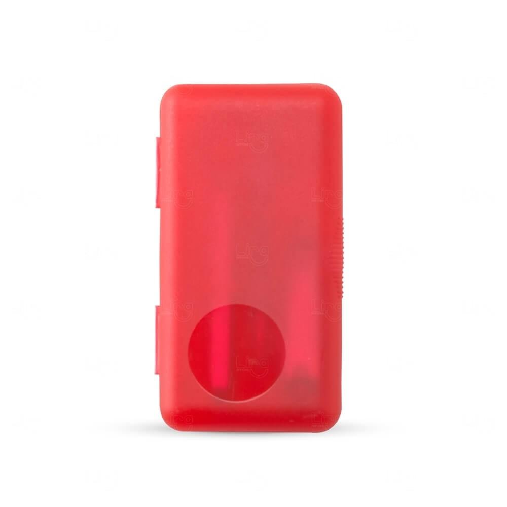 Kit Manicure Personalizado - 4 Peças Vermelho