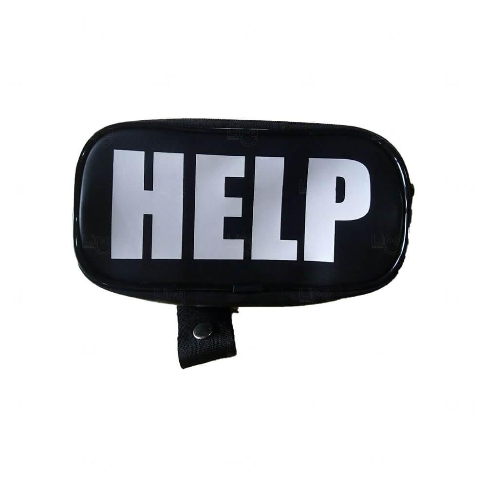 Pochete Bag Personalizada Preto