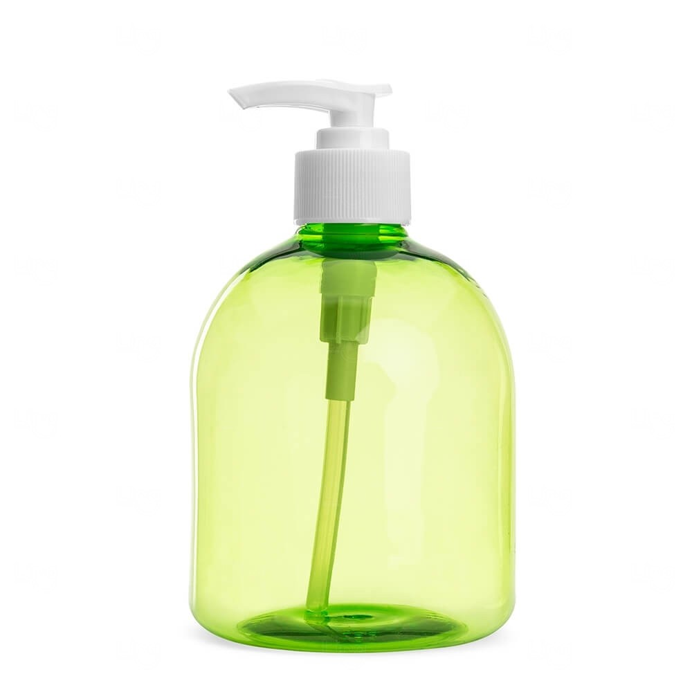 Frasco plástico Personalizado - 480ml Verde