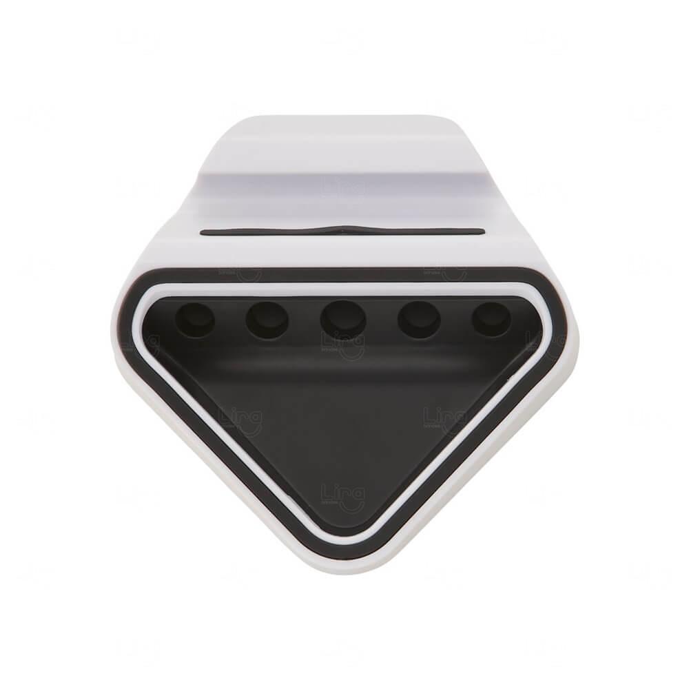 Suporte P/ Celular Com Porta Canetas Personalizado