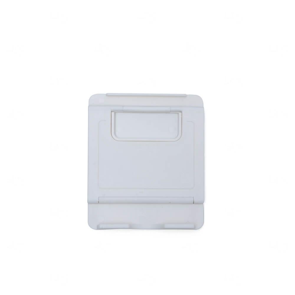 Suporte Plástico p/ Celular Personalizado Branco