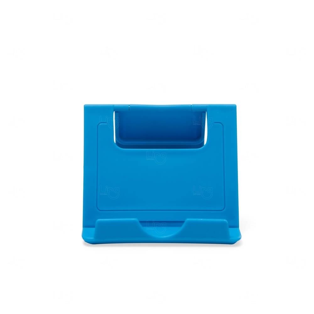 Suporte Plástico p/ Celular Personalizado Azul Claro