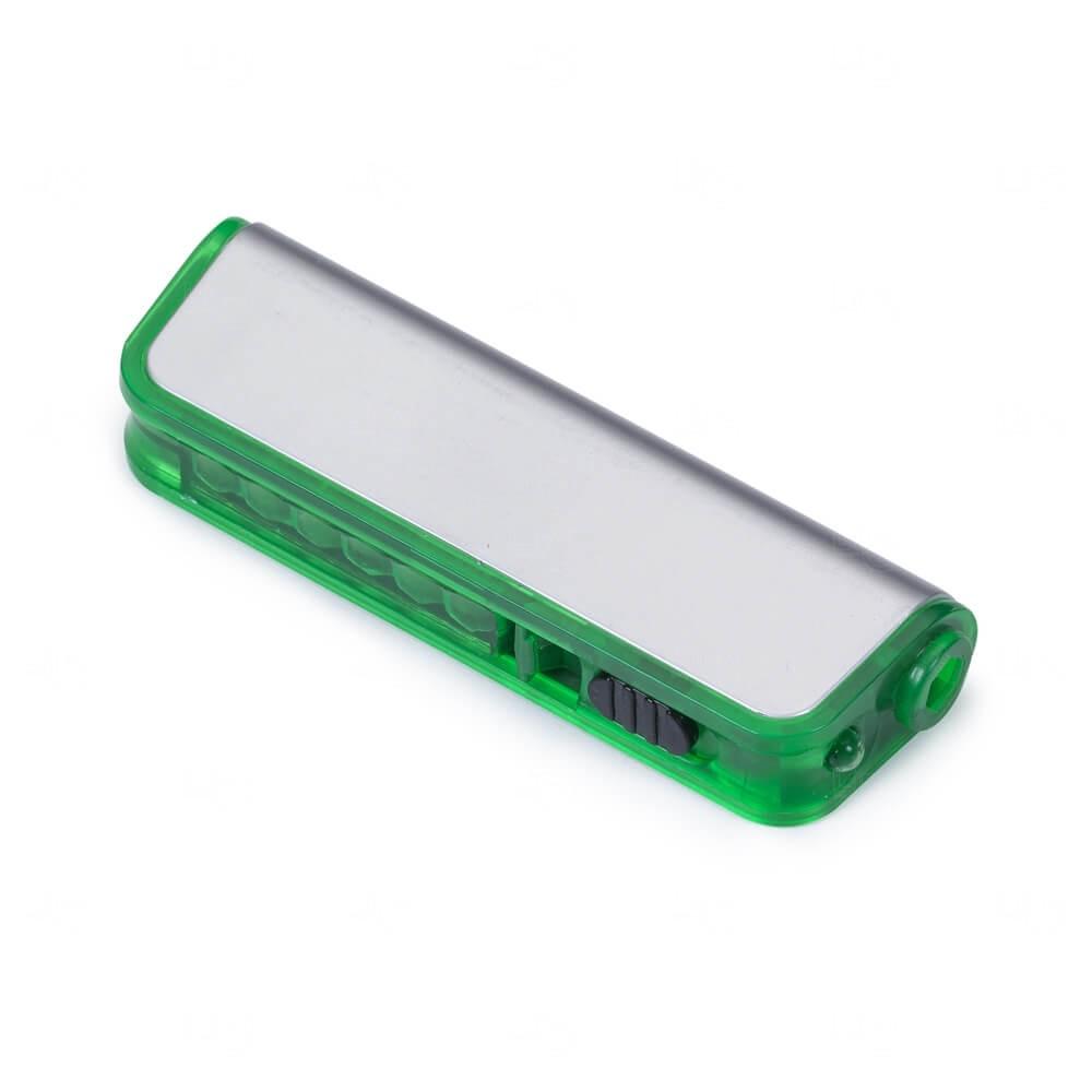 Kit Ferramenta Com Lanterna - 6 Peças Verde