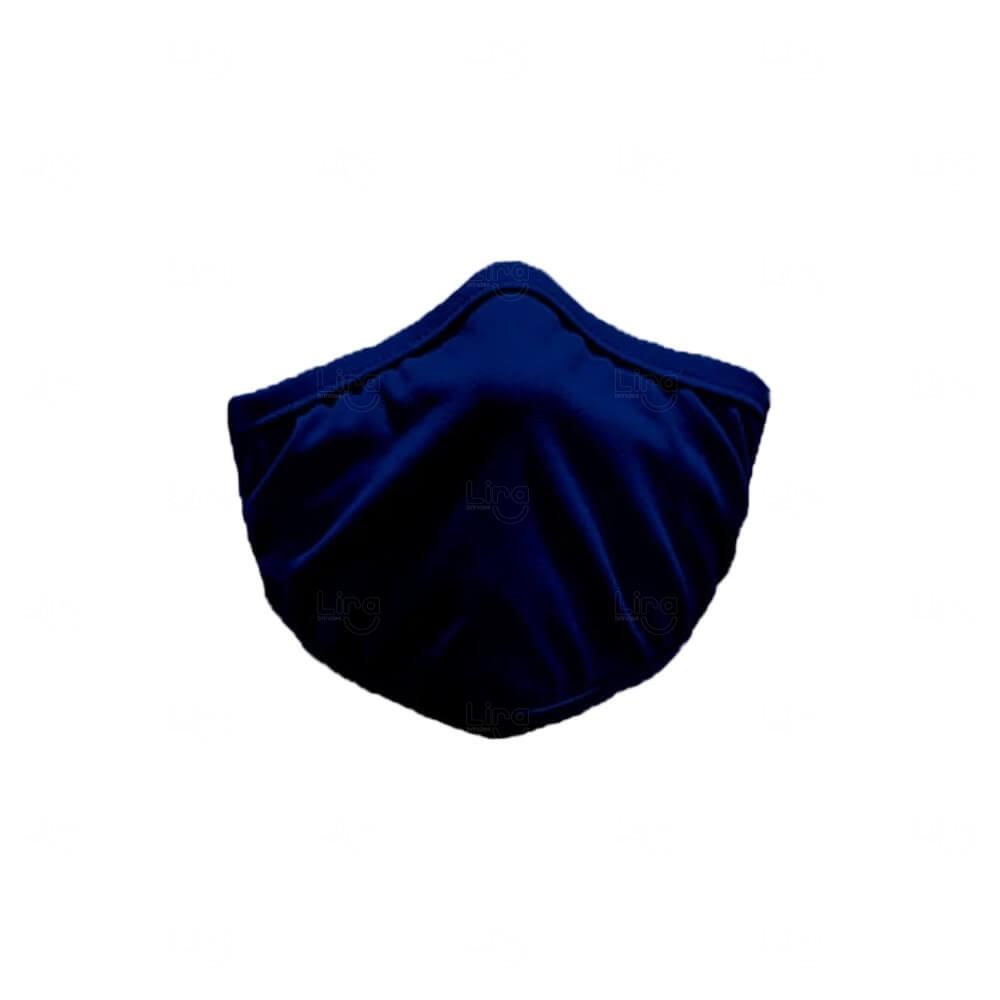 Máscara De Proteção Adesiva Personalizada Azul
