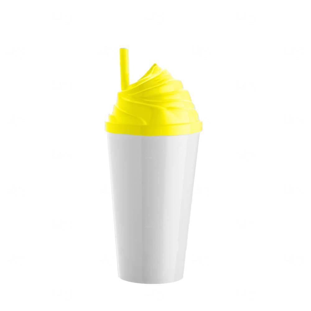 Copo Sorvete Personalizado - 500ml Amarelo