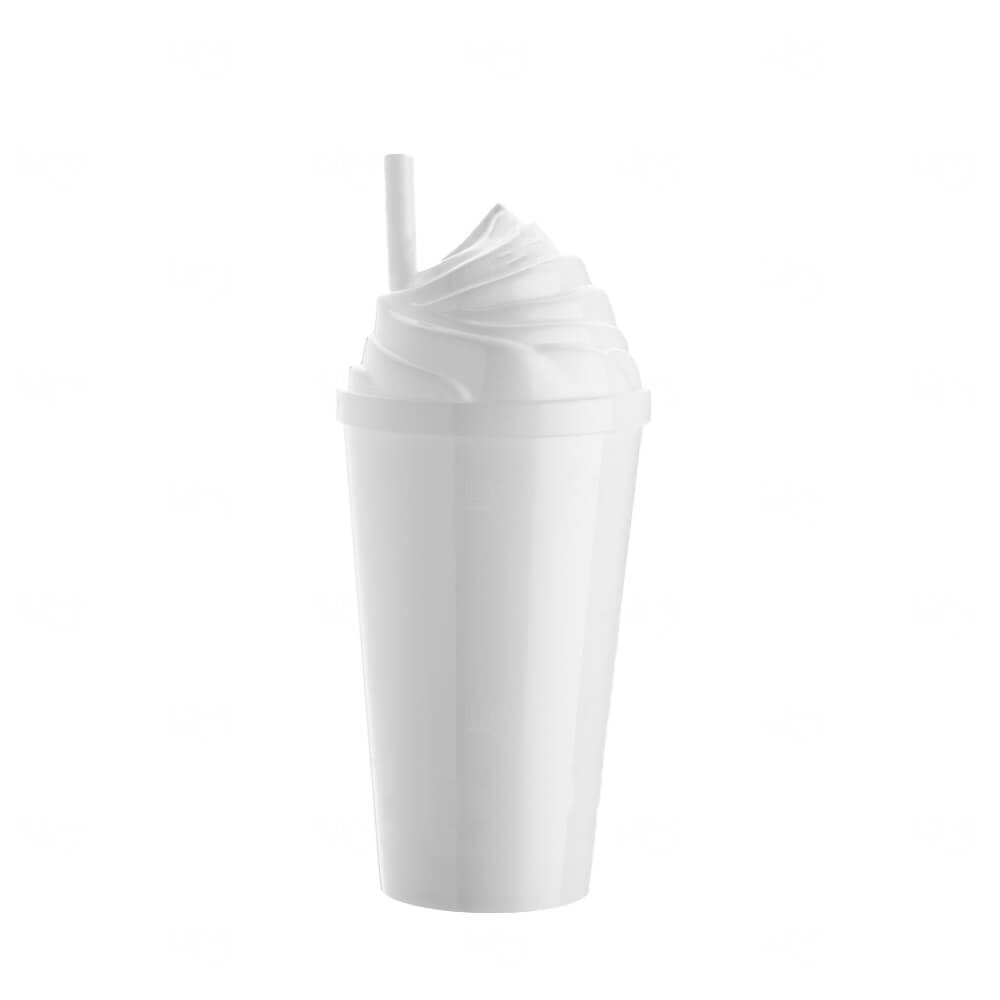 Copo Sorvete Personalizado - 500ml Branco