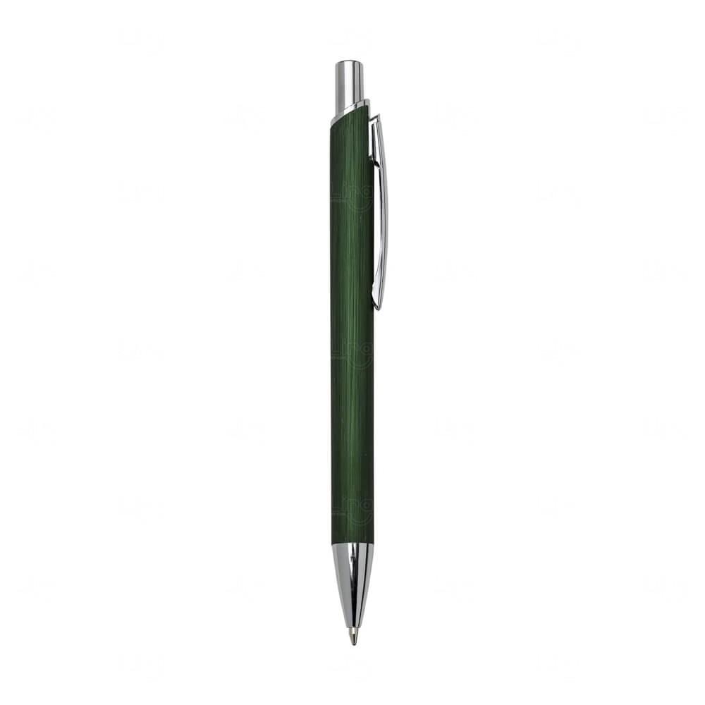 Caneta de Alumínio Personalizada Verde