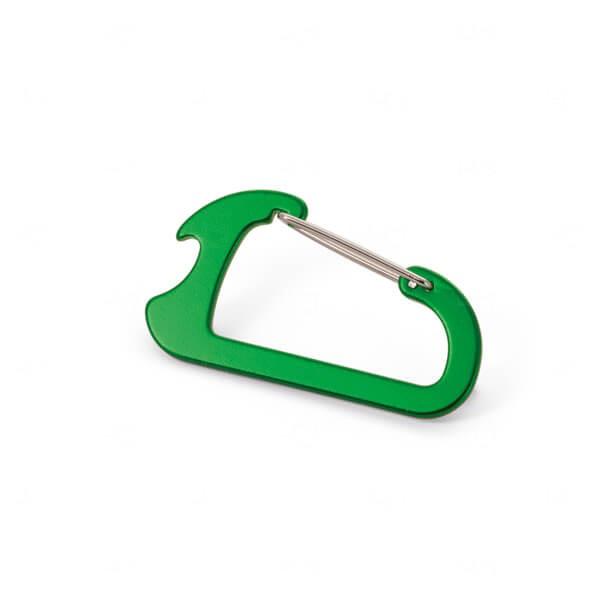 Mosquetão Abridor Personalizado Verde