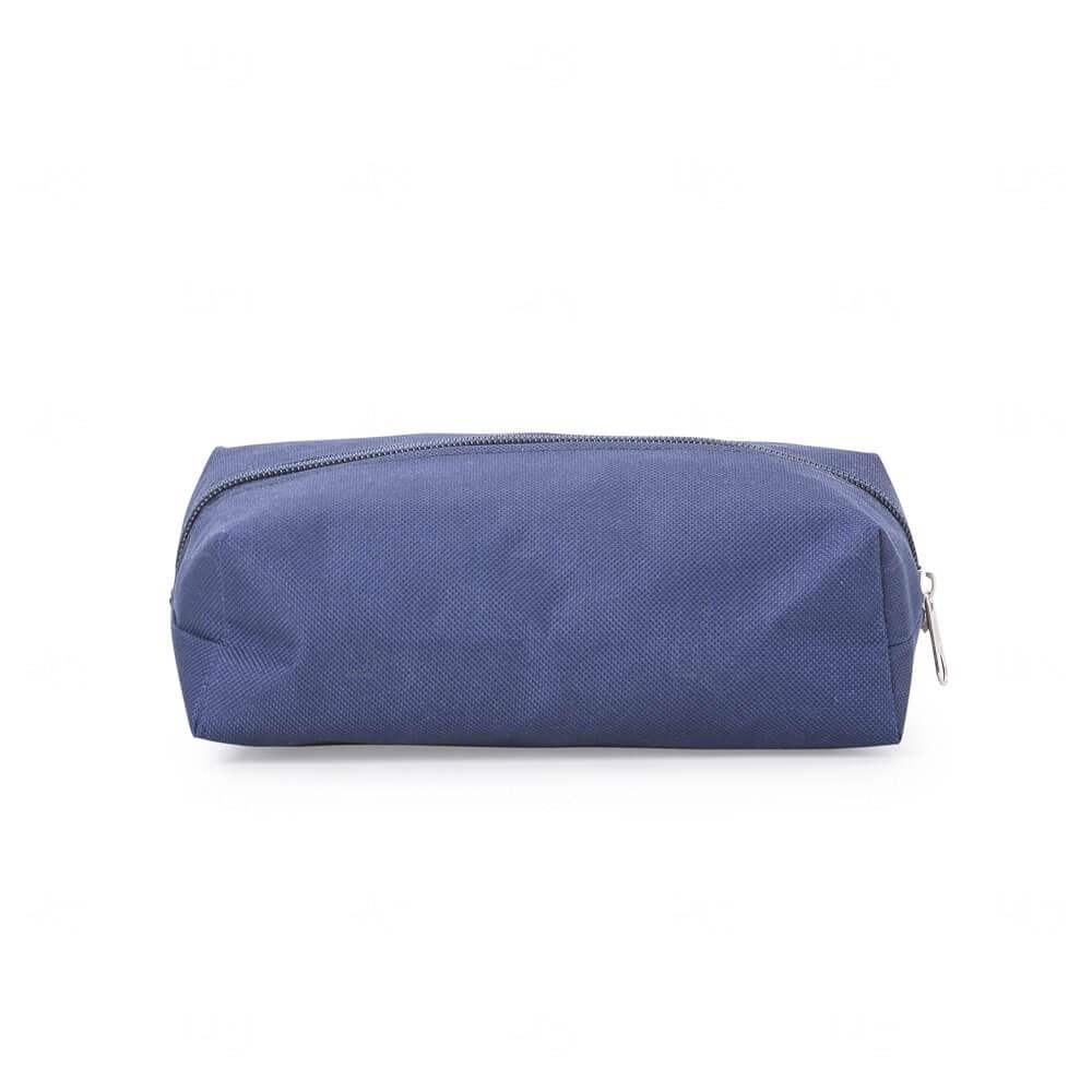 Necessaire de Nylon Personalizada Azul Marinho