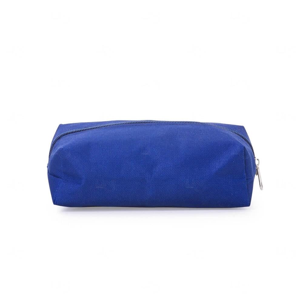 Necessaire de Nylon Personalizada Azul