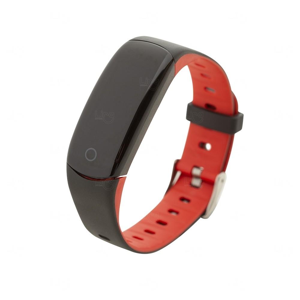Relógio Smartwatch Personalizado Vermelho