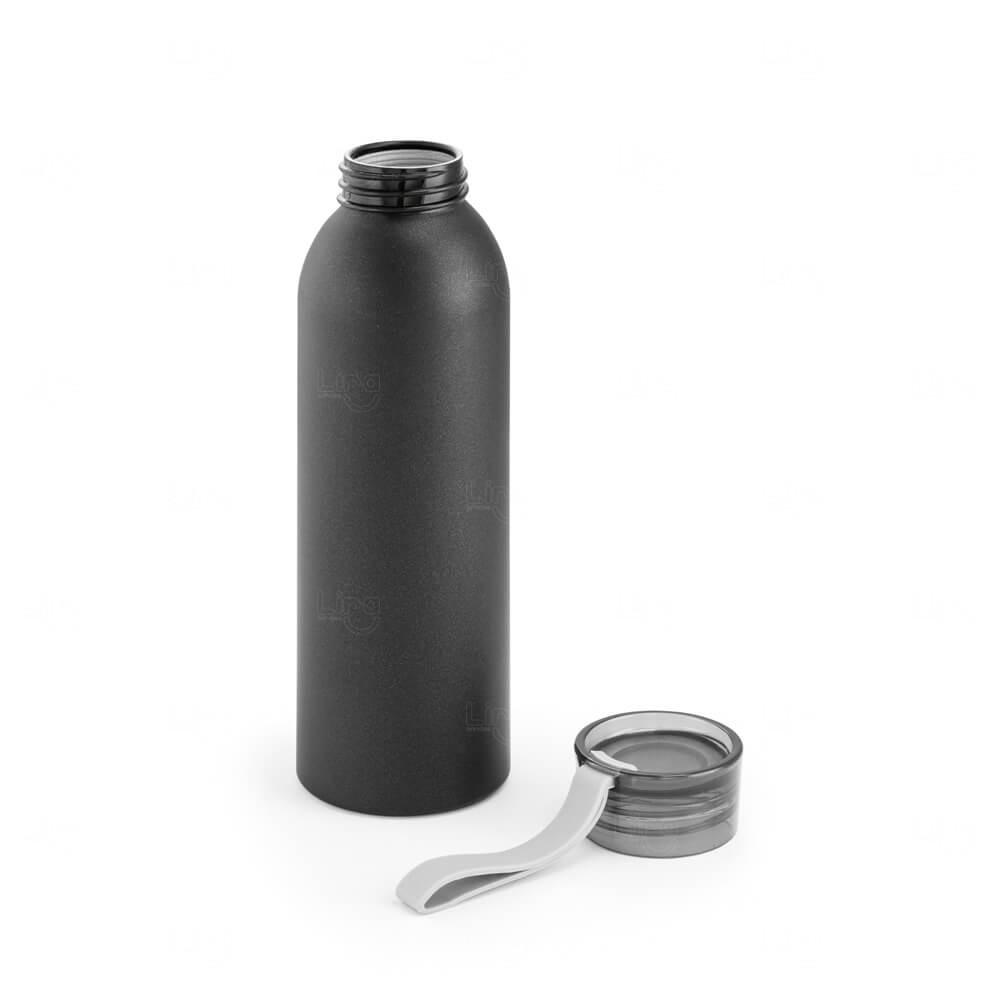 Squeeze Alumínio Personalizado - 660ml Preto