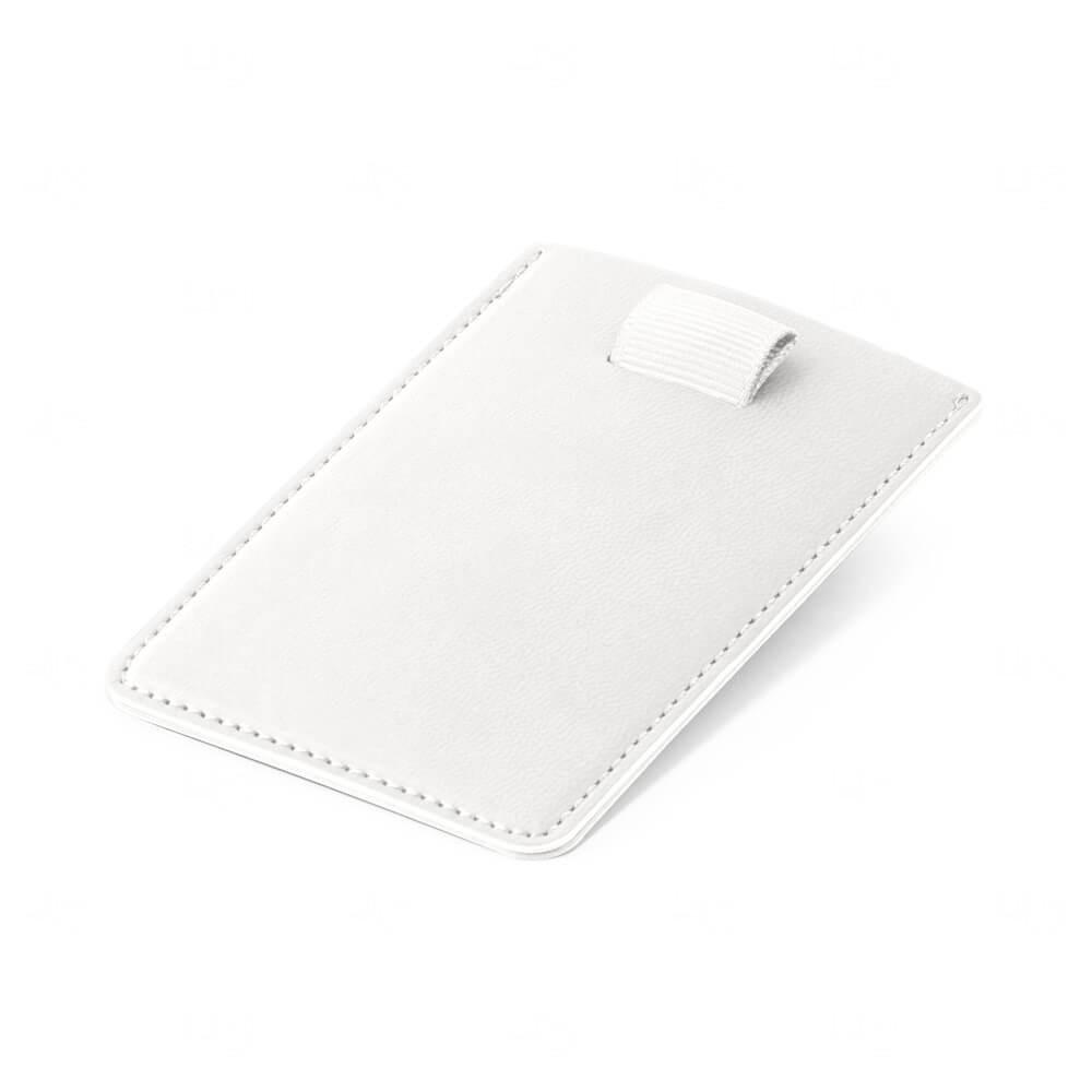 Porta Cartão Personalizado Branco