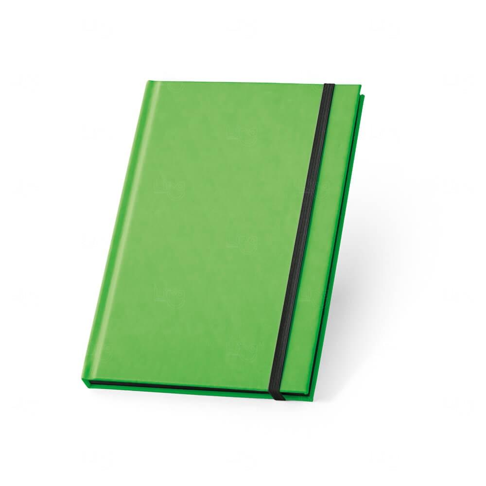 Caderno Capa Dura Personalizado Verde