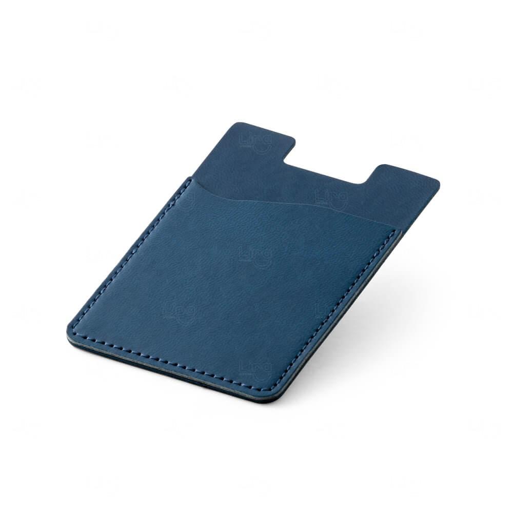 Porta Cartão Personalizado Azul