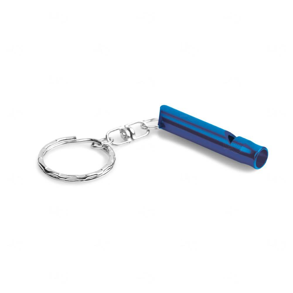 Chaveiro de Metal Personalizado Azul