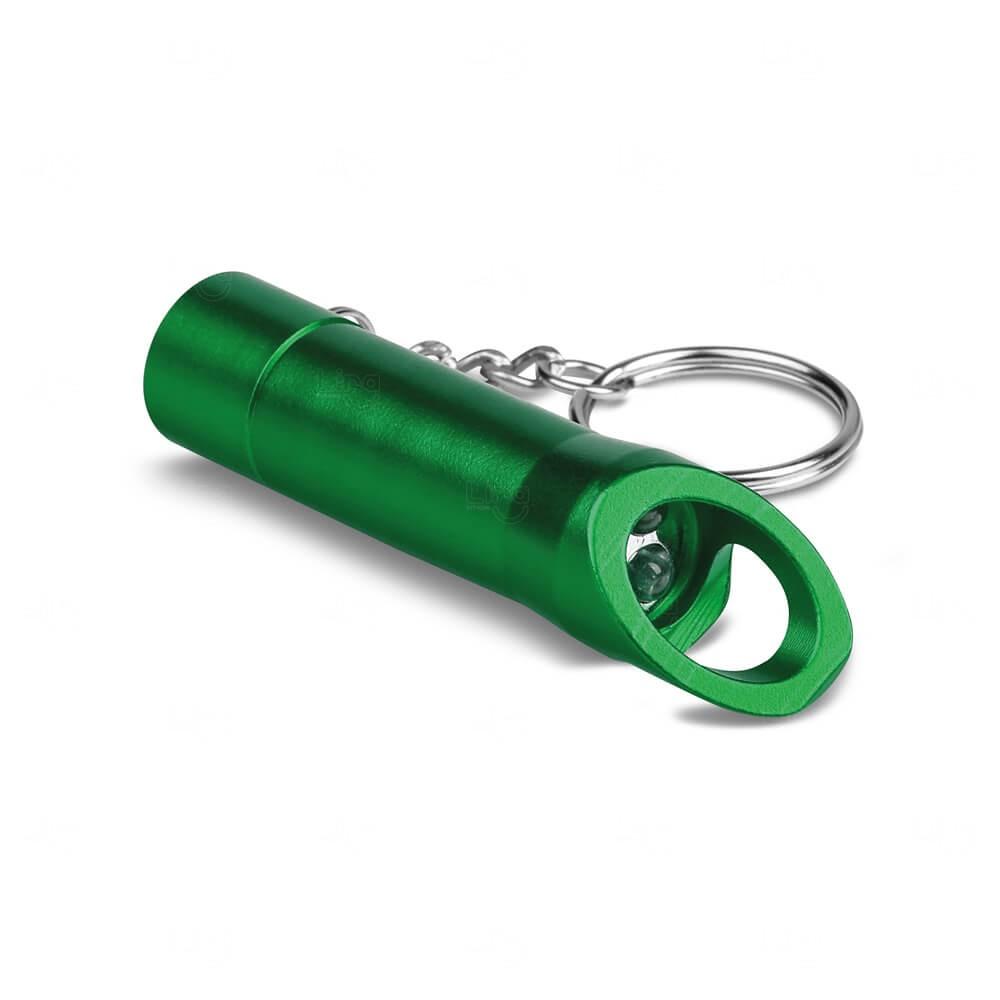Chaveiro de Metal Personalizado Verde