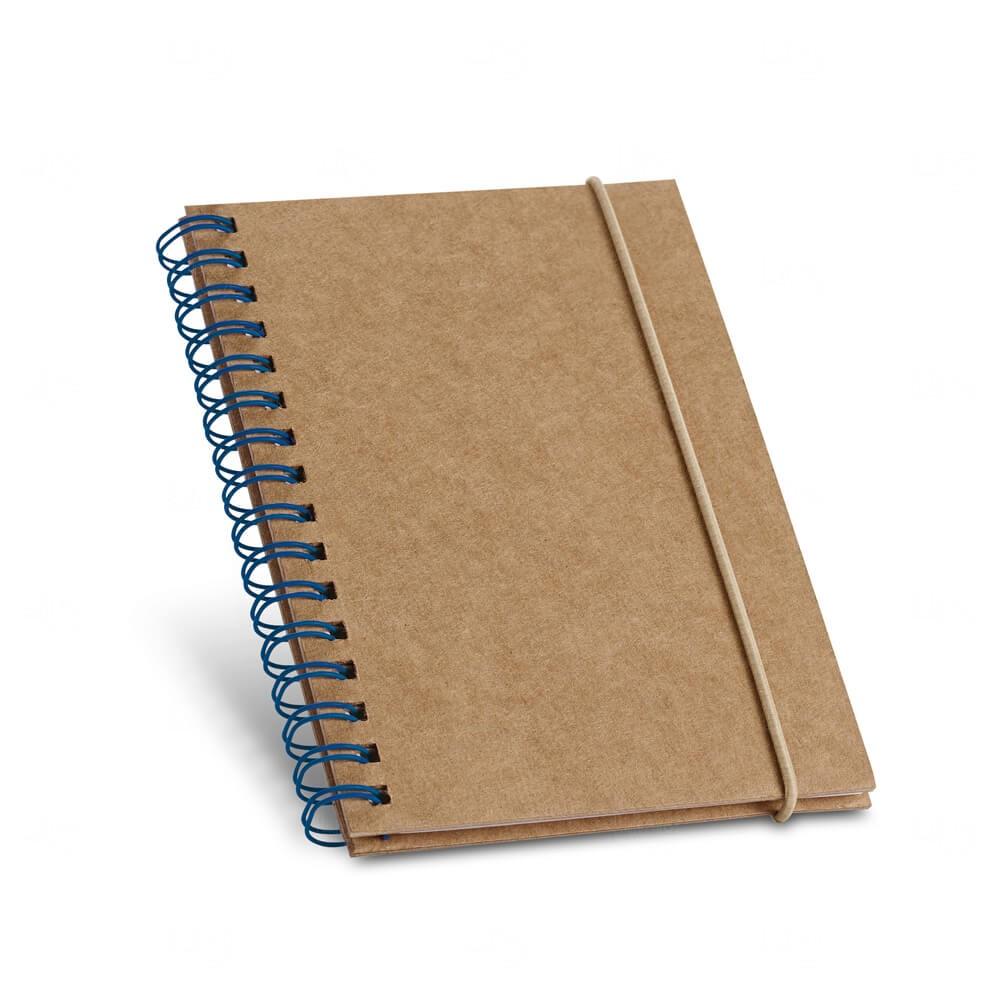 Caderno Capa Dura Personalizado Azul