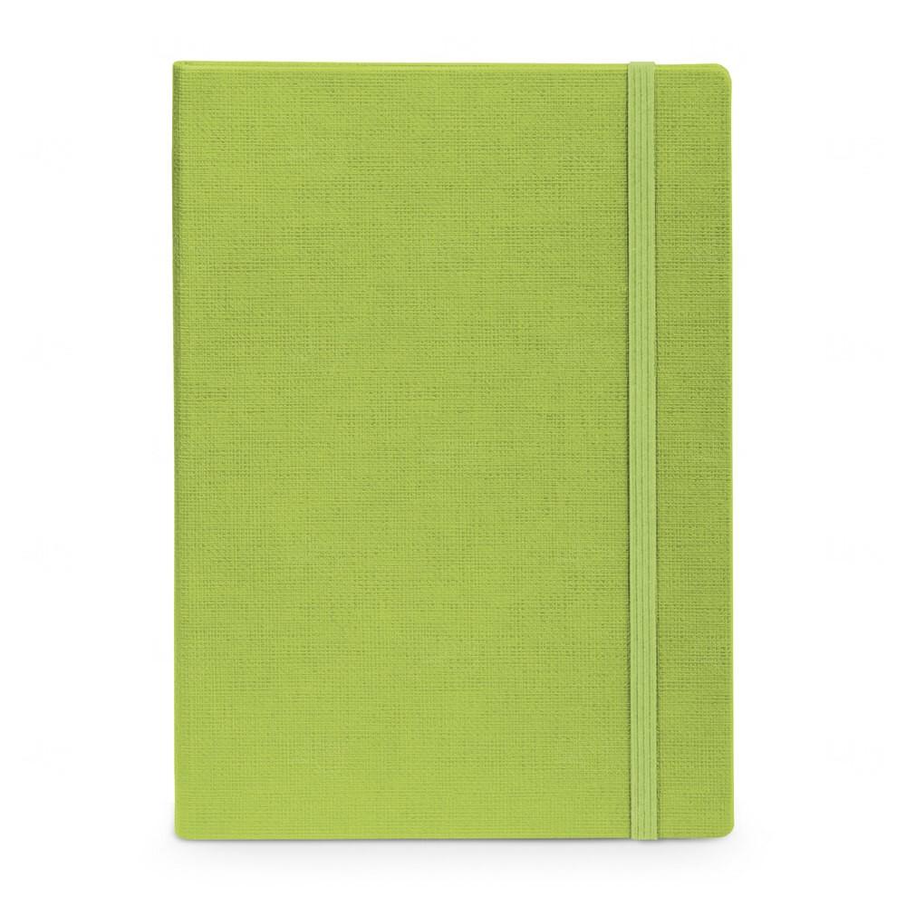 Caderno Capa Dura Personalizado - 14 x 9 cm Verde
