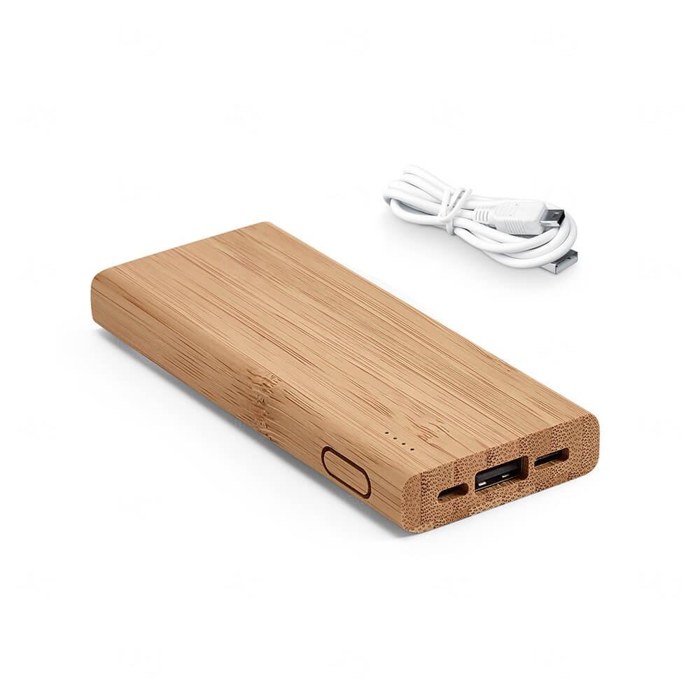 PowerBank Bambu Personalizada - 5.000mAh
