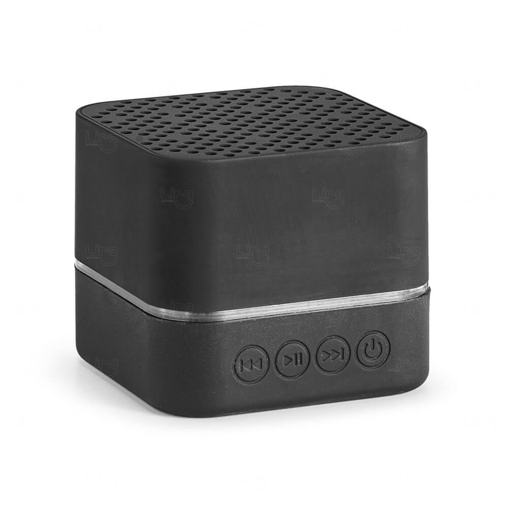 Caixa de Som Bluetooth Personalizada Preto