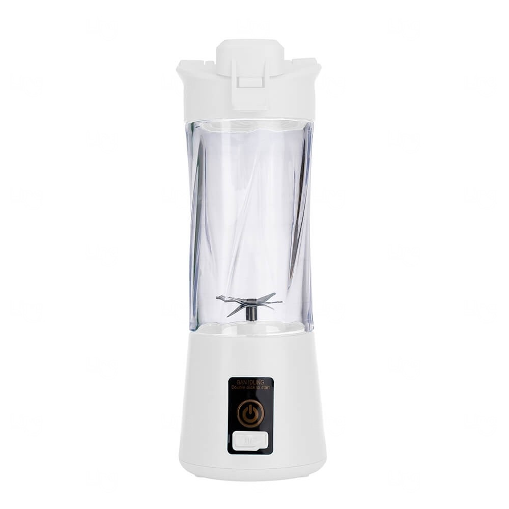 Mini Liquidificador Portátil - 300ml Branco