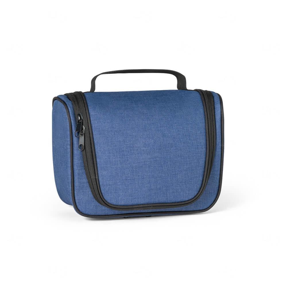 Necessaire com Gancho Personalizada Azul