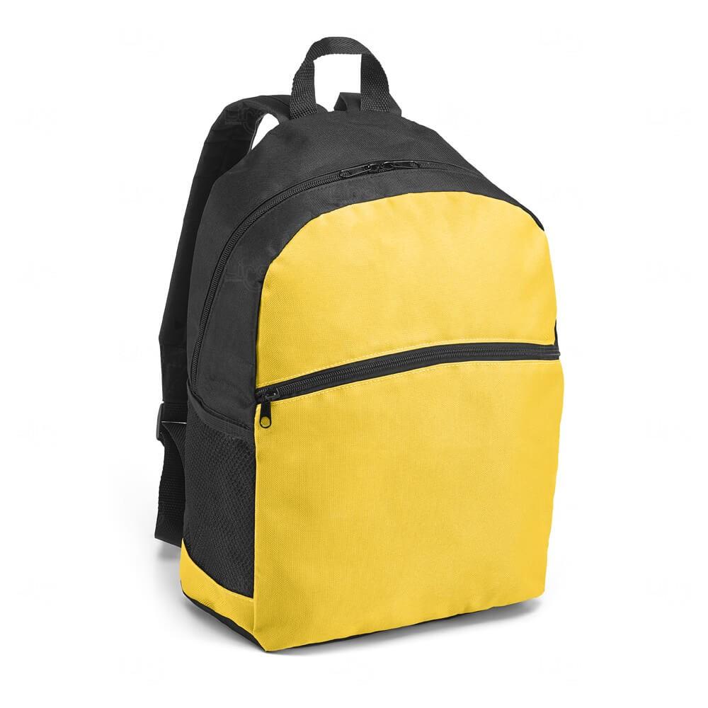 Mochila Bolso Frontal Personalizada Amarelo