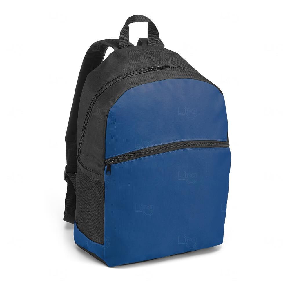 Mochila Bolso Frontal Personalizada Azul