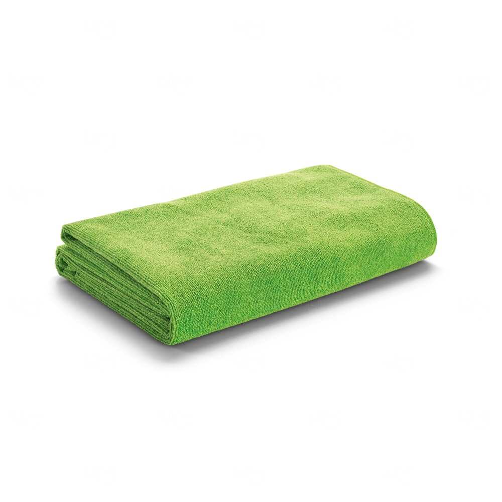 Toalha De Praia Com Sacola Personalizada Verde