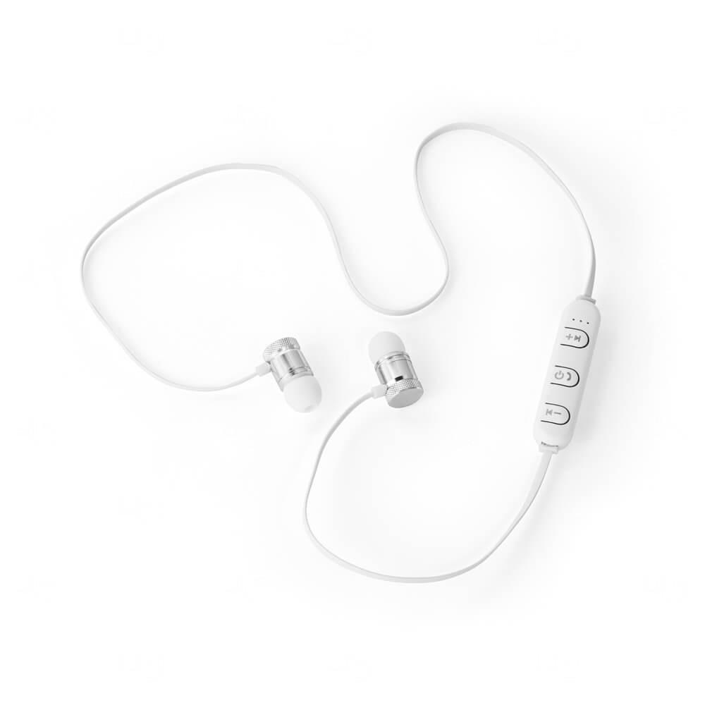 Fone de ouvido Personalizado Branco