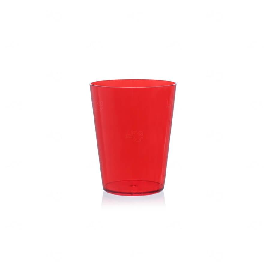 Copo Drink Personalizado - 400ml Vermelho