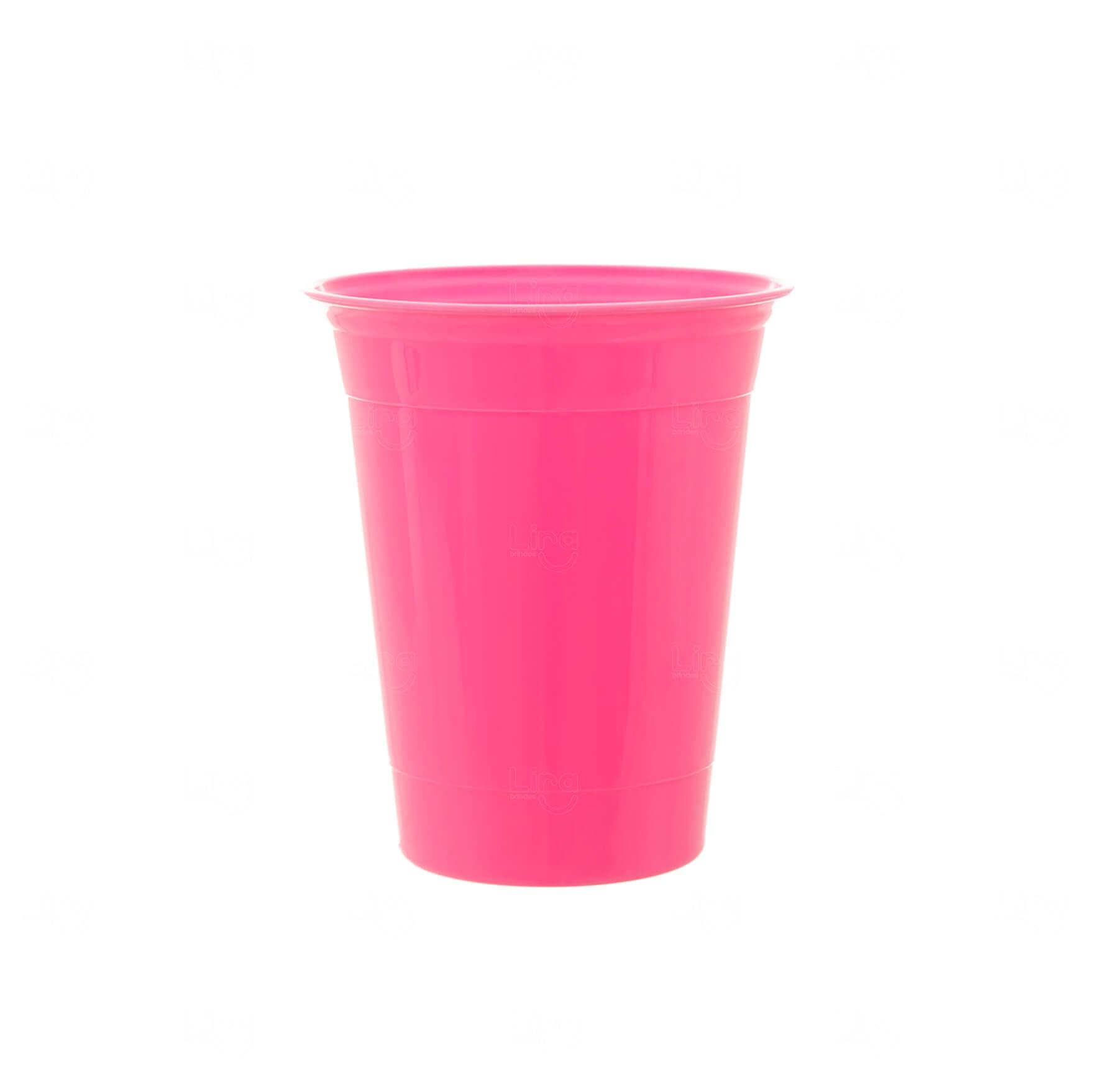 Copo P/ Festa Personalizado - 400ml Rosa